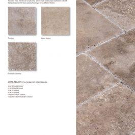 Walnut travertine tile