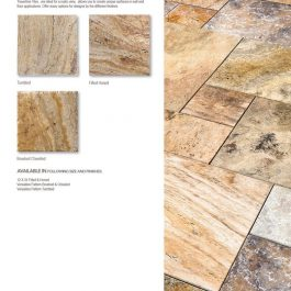Autumn Travertine Tile