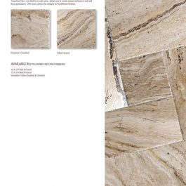 Leonardo travertine tile