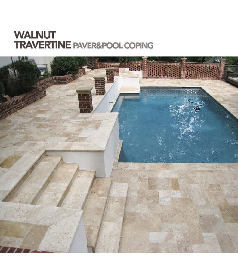 Travertine Pool Decking Pros And Cons