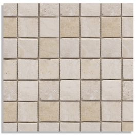 VANILLA MOSAIC TRAVERTINE