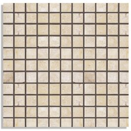 CLASSIC LIGHT IVORY MOSAIC TRAVERTINE