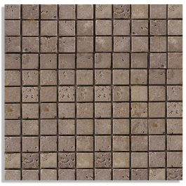 NOCE MOSAIC TRAVERTINE