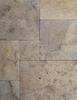 TUSCANY BLEND FRENCH/ VERSAILLES PATTERN TUMBLED TRAVERTINE