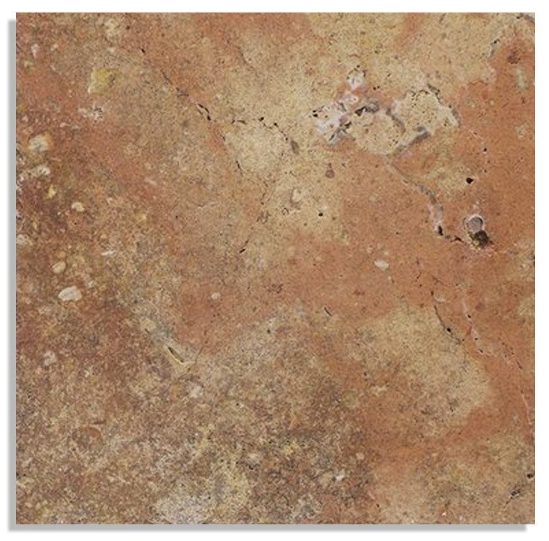 AUTUMN FRENCH/ VERSAILLES PATTERN TUMBLED TRAVERTINE TILE