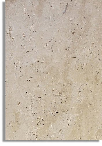 CLASSIC LIGHT IVORY FRENCH/ VERSAILLES PATTERN TUMBLED TRAVERTINE