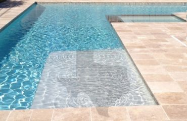 Travertine for pools