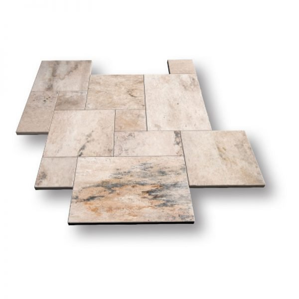 French Pattern Country Classic Travertine Pavers