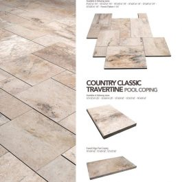 Country Classic Travertine Paver