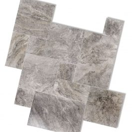 Silver Travertine Paver