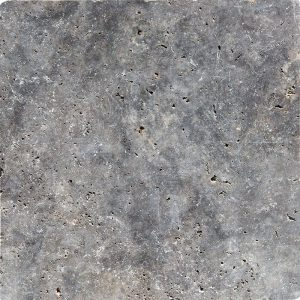 18x18 Silver Travertine Tile