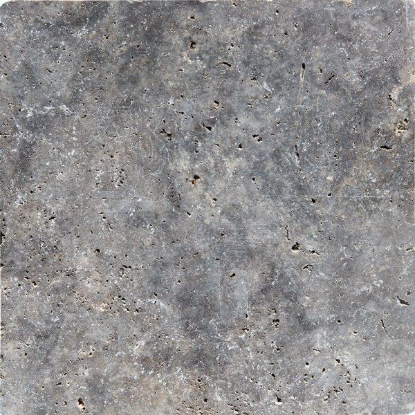 18x18 Silver Travertine Tile