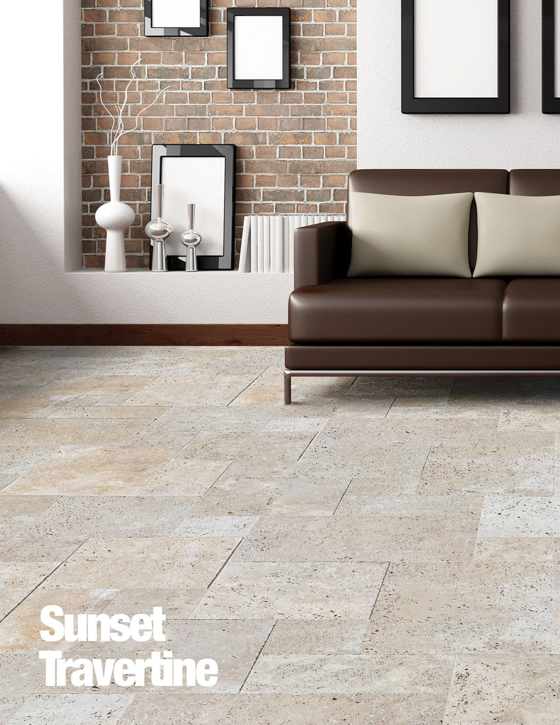 Sunset travertine