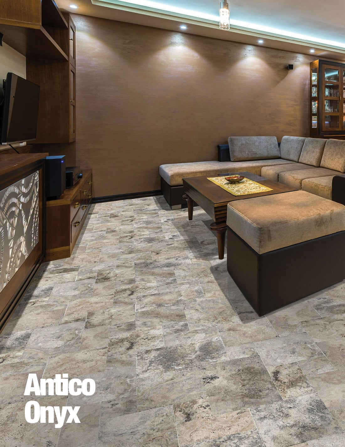 Antico Onyx Travertine