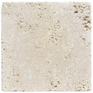 24x24 Classic Ivory Travertine Pavers