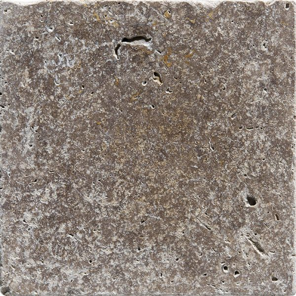 4x4 Noce Tumbled Travertine Tiles