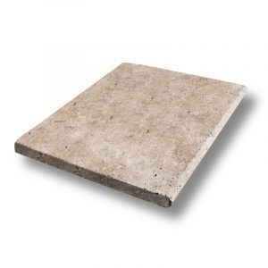 16x24 Country Classic 2 inch Bullnose Travertine Pool Coping