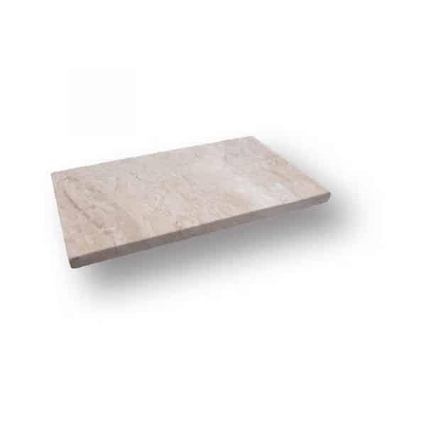 2 inch 12x24 Diana Royal Sand Blasted Marble Modern Flat Edge Pool Coping