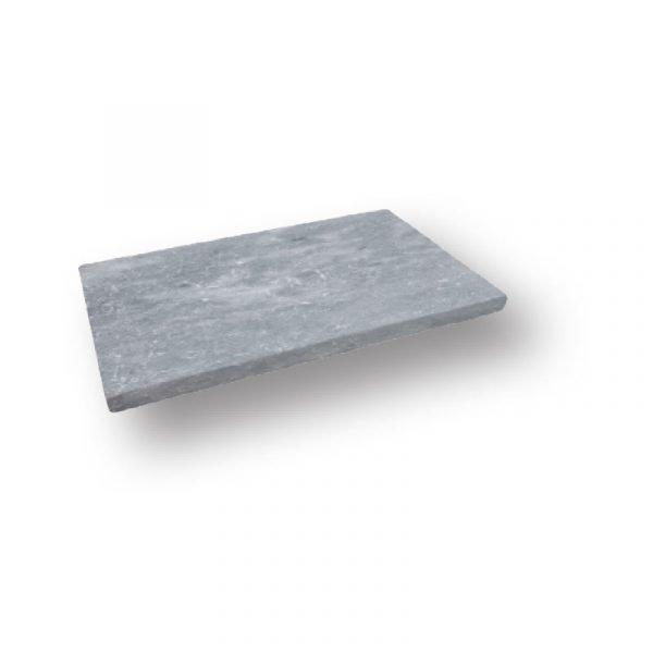 2 inch 12x24 Grey Pearl Sand Blasted Marble Modern Flat Edge Pool Coping