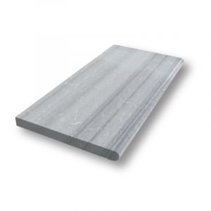12x24 Grey Pearl Sand Blasted Marble Pool Coping