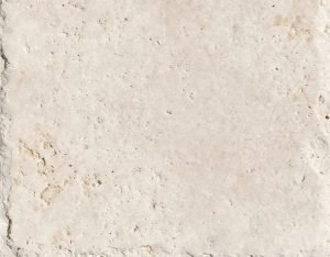 16x24 Ivory Brushed and Chiselled Travertine Tile