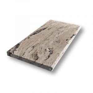 2 inch 12 X 24 Leonardo Bullnose Travertine Pool Coping