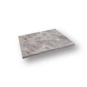 16x24 Silver Travertine Eased Edge Pool Coping
