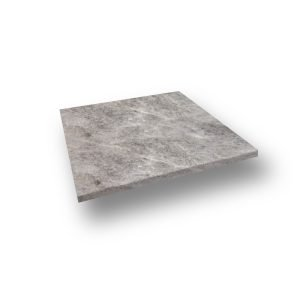 24x24 Silver Travertine Eased Edge Pool coping